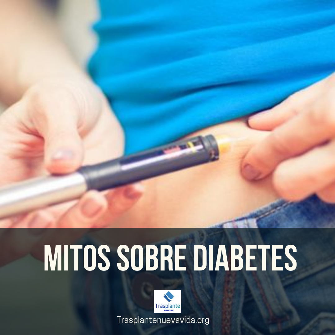 mitos sobre diabetes